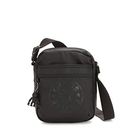 Kipling Hisa Crossbody Bag Raw Black
