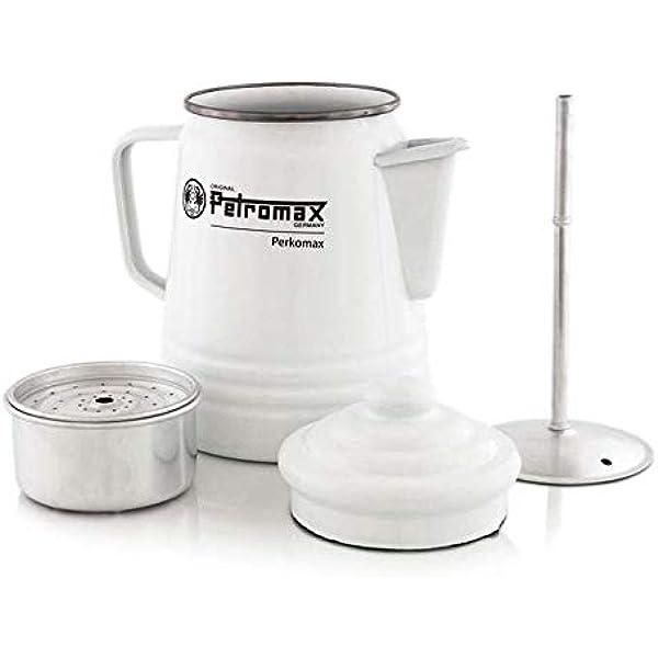 Petromax Esmalte cafetera Blanco Blanco Talla:1,5 L: Amazon.es: Deportes y aire libre