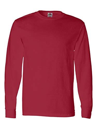 - FOL Mens 5 oz.Heavy Cotton HD Long-Sleeve T-Shirt (4930) -TRUE RED -XL