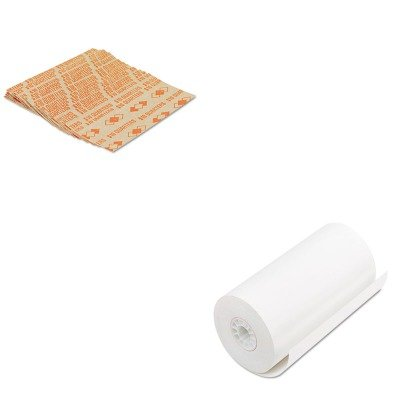 KITPMC06382PMC53025 - Value Kit - Pm Company Single-Ply Thermal Cash Register/POS Rolls (PMC06382) and Pm Company Tubular Coin Wrappers (PMC53025)