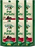 Greenies Canine Pill Pockets Hickory Smoke Capsule 30/pk – 6 Pack, My Pet Supplies