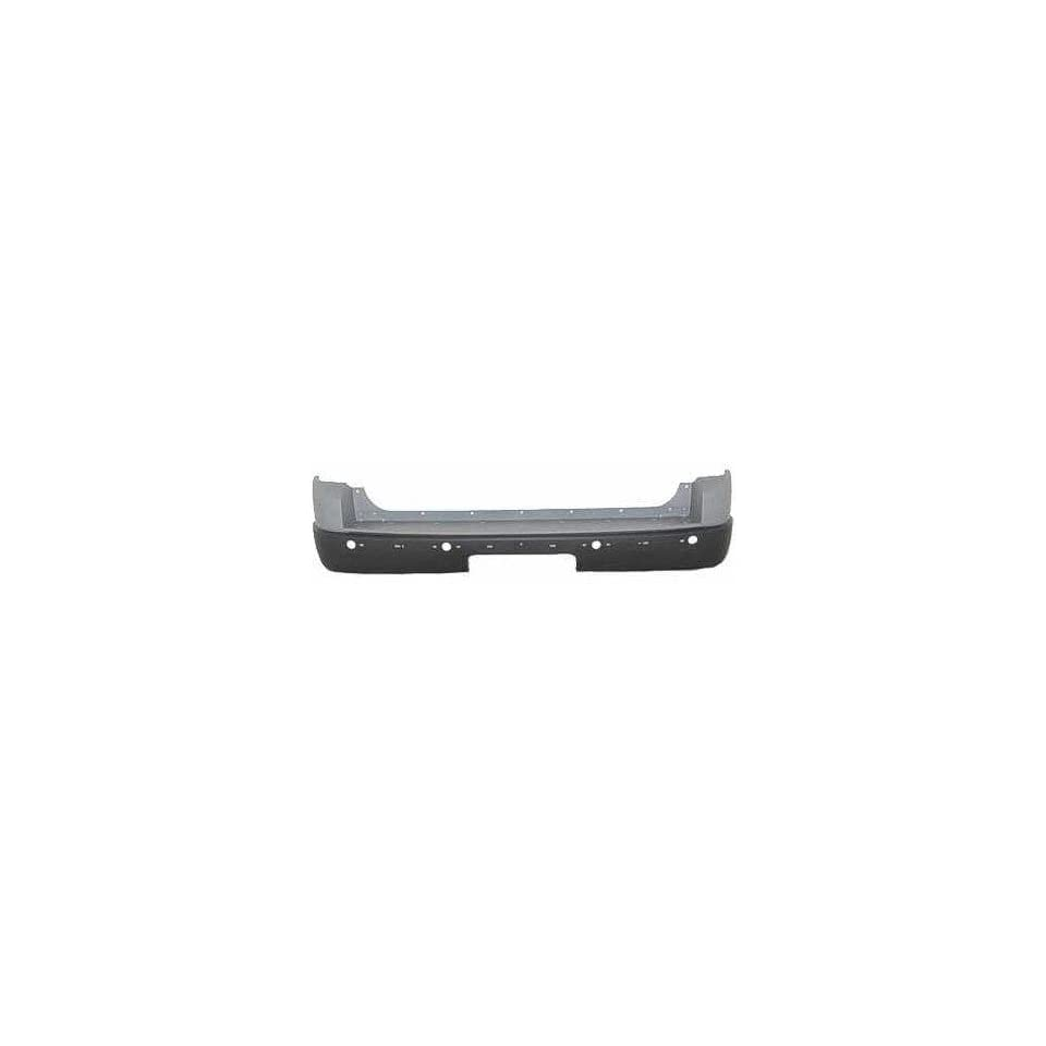 Ford Explorer Primed Black Replacement Rear Bumper Cover Automotive