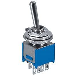Amazon Com Sub Mini Toggle Switch Dpdt Center Off 3 Amp
