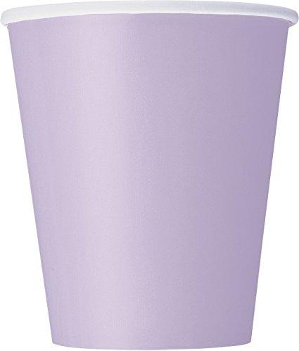 9oz Lavender Paper Cups 14ct