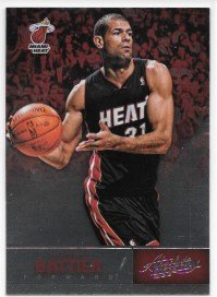 Shane Battier 2012-13 NBA Absolute Miami Heat Card #59