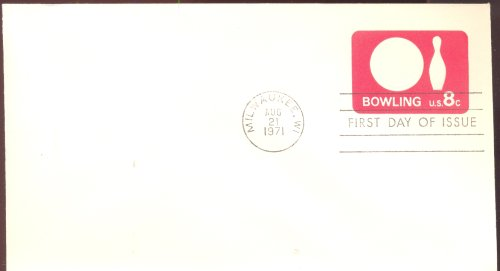 BOWLING FIRST DAY OF ISSUE ENVELOPE ()