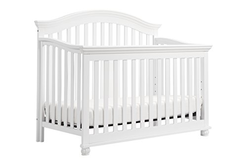 DaVinci Sherwood 4-in-1 Convertible Crib In White