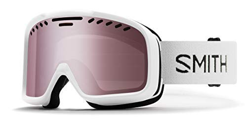 Smith Optics Project Adult Snow Goggles - White/Ignitor Mirror/One Size (Lounge Velocity)