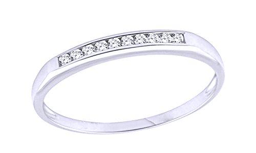 0.1 Ct Diamond Bezel - 9