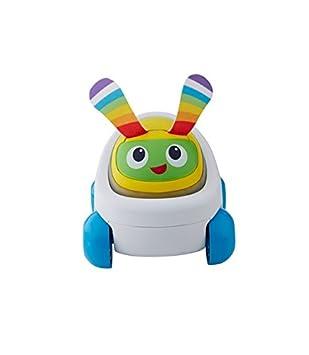 Fisher-Price FDC50 Voiture Beba Robot Interactif, Jouet Sons et Lumières, Stimule Les Sens de Bébé, 9 Mois et Plus Mattel FDC78