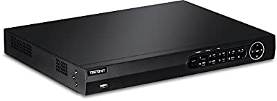 TRENDnet 8-Channel HD Network Video Recorder with 2TB Hard Drive, 1080p, 2 SATA II Bays, Up to 12 TB Storage, Rack Mountable, ONVIF, IPv6, Free iOS & Android App, 2 Year Warranty, TV-NVR2208D2