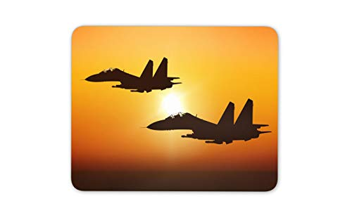 Raf Airplane - Fighter Jet Mouse Mat Pad - Plane Pilot RAF Airplane Cool Computer Gift #15825