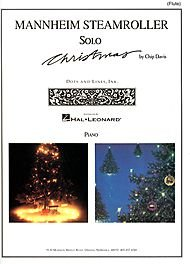 Hal Leonard Mannheim Steamroller Solo Christmas Solos for Flute And ()