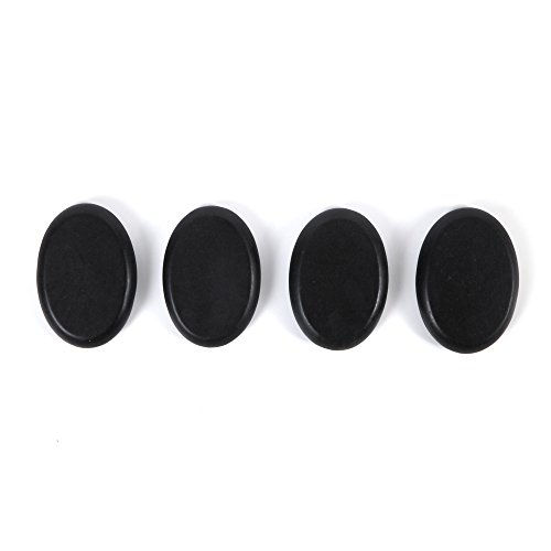 Aboval 20Pcs Professional Massage Stones Set Natural Lava Basalt Hot Stone for Spa, Massage Therapy by Aboval (Image #4)