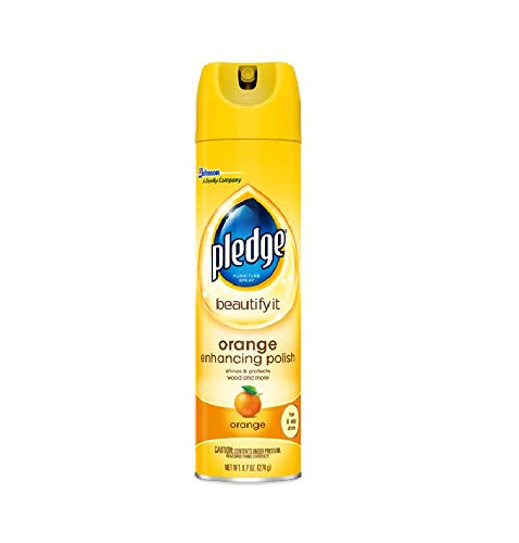 Pledge Orange Clean Furniture Spray 9.70 oz (Pack of 3)