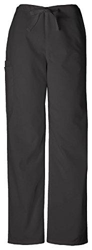 Cherokee Workwear Unisex Tall Drawstring Cargo Pant_Black_X-Large,4100T