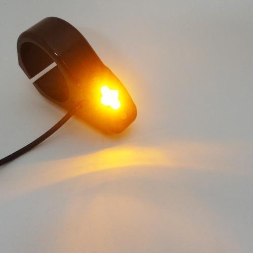 FidgetGear 7 LED Daymaker Headlight Angel Eye for Yamaha V-Star Xvs 650 1100 Classic Custom