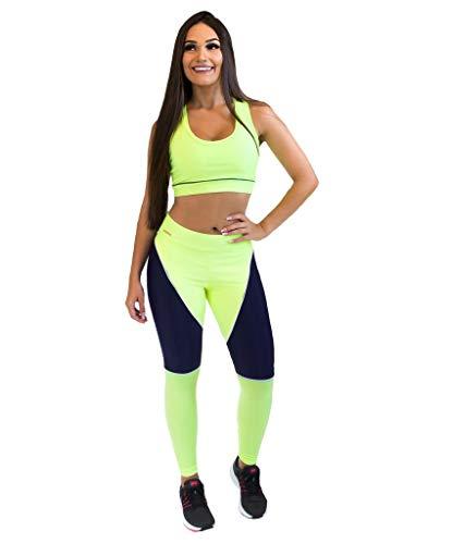 Calça Legging - Power Girl - Verde - M