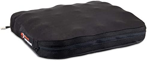Air Seat Innovations Seat Cushion Office Chair, Wheelchair, Car or Truck Driver Seat Pad – Lower Back, Coccyx and Sciatica Pain Relief, 18 x 16