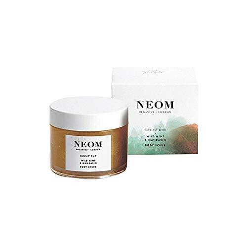 [Neom] Neom高級有機物素晴らしい一日ボディスクラブ332グラム - Neom Luxury Organics Great Day Body Scrub 332G [並行輸入品] B07S94BCRM