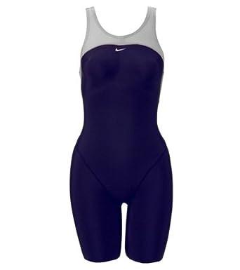 info for 08828 d2469 Amazon.com  Nike Swim Hydra Women s Neck to Knee Tech Suit, Midnight Navy,  32  Clothing