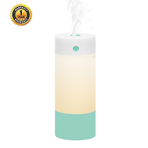 Sbode Humidifier, USB 250 mL Cool Mist Humidifiers Premium H