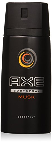 AXE body spray deodrant Anit-Aerspirant (3X 150 ml/5.07 oz, Musk)