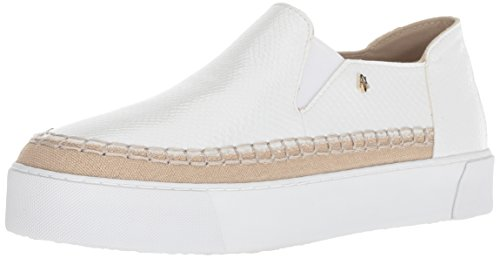 Slip Sneaker Armani Snakeskin Bianco Women's Platform Textured Exchange on 0Irq0