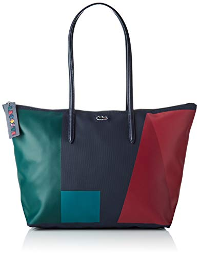 Multicolore Multicolor Sac Block S Shopping Large Lacoste Lacoste qwRg6II