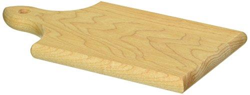 J.K. Adams 7-1/2-Inch-by-4-Inch Sugar Maple Wood Q-Tee Cutting Board ()
