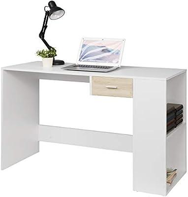 EUGAD Escritorio de Ordenador Escritorio para Computadora Mesa de ...