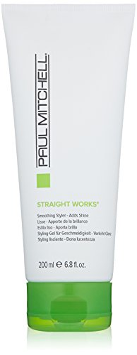 Paul Mitchell Straight Works Gel, Smoothing Style, Packaging