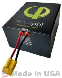 SIMPLIPHI POWER PHI 655WH 12VSMART TECH LITHIUM BATTERY by SimpliPhi Power