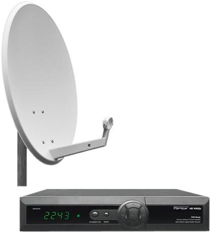Opticum - Sistema de satélite completo (sintonizador digital ...