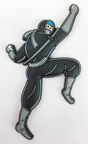Amazon.com: musubi PVC Fridge Magnet SK0010 (Ninja Climb ...