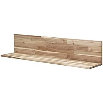 Amazon Com Ikea Skogsta Wall Shelf Acacia 103 004 99 Size
