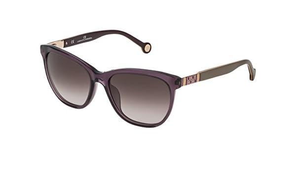 Carolina Herrera Gafas de Sol Mujer SHE691540916 (Diametro 54 mm), Beige (916), 54 Unisex-Adult: Amazon.es: Ropa y accesorios