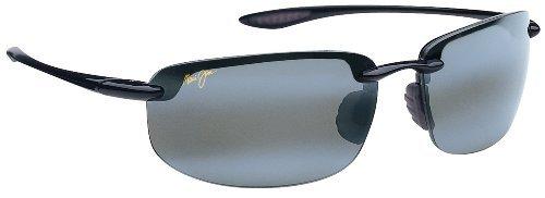 Maui Jim Ho'okipa 407 Sunglasses Color: Black / Grey Lens Size: - Sunglasses Ho Okipa