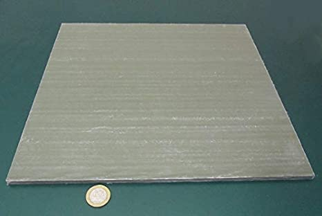 Amazon Com Frp Fiberglass Sheet 250 1 4 Thick X 12 Width X 12 Length Green 1 Pc Industrial Scientific