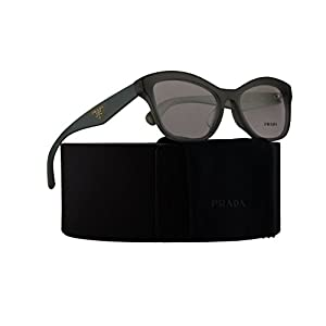 Prada PR29RVF Eyeglasses 54-17-140 Opal Dark Green w/Demo Clear Lens UEI1O1 VPR29RF VPR 29RF PR 29RV