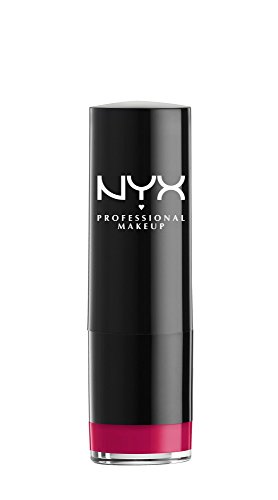 NYX PROFESSIONAL MAKEUP Extra Creamy Round Lipstick, Chic Red, 0.14 Ounce