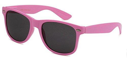 (Sunglasses Classic 80's Vintage Style Design (Light Pink) )