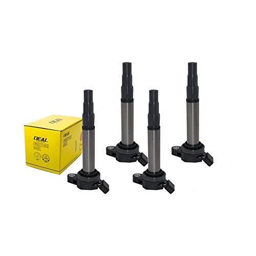 DEAL 4pcs New Ignition Coils Plug Pack For Matrix Corolla Prius Scion xD Vibe 1.8L UF596