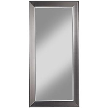 Amazon Com Xl Long Full Length Silver Wall Floor Mirror