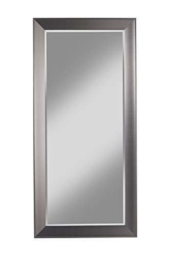 Sandberg Furniture 15311 Contemporary Silver Full Length Leaner Mirror by Sandberg Furniture