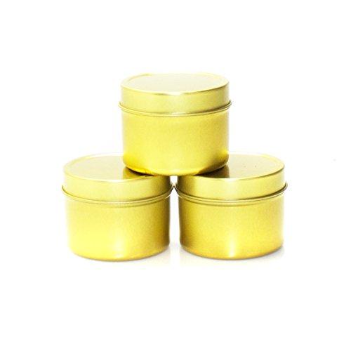 Mimi Pack ALL Deep Solid Slip Tins (2 oz, - Gold Tins Favor