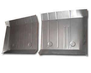 1964-69 AMC Rambler ''American'' Rear Floor Pans (Pair) by Classic 2 Current Fabrication
