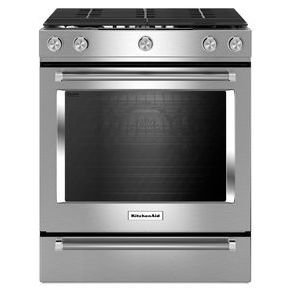 KITCHENAID KSGG700ESS 30 Inch 5 Burner Convection product image