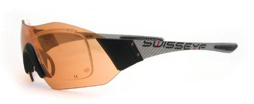 Swiss S Sport Unique Shield C Lunettes Silver Taille Carbon RX Eye de f1xfwYq6r