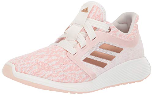 adidas Women's Edge Lux 3 Running Shoe Copper Metallic/Cloud White, 5 M US